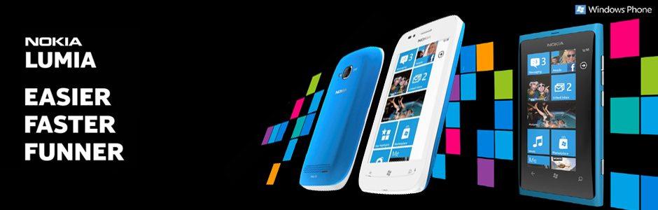 Nokia kondigt Windows Phone toestellen aan