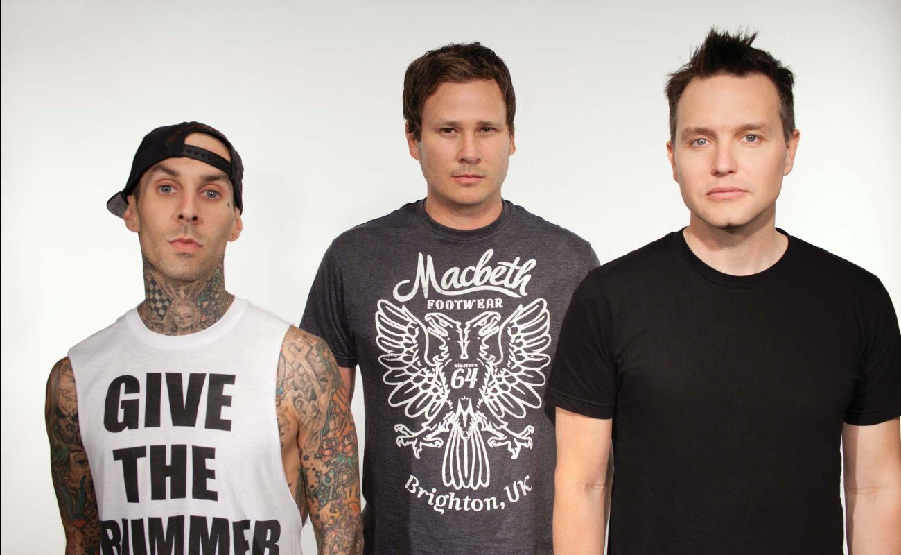 Blink-182 verkoopt Halloween shirt