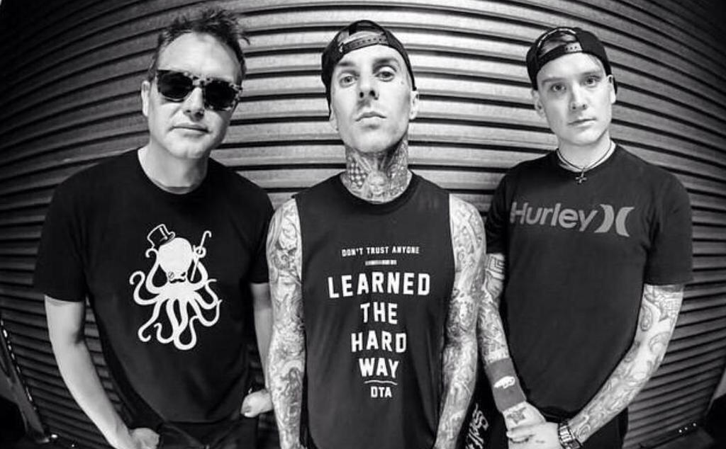 Blink-182 covert The Cure