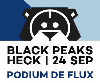 Black Peaks - Podium de Flux