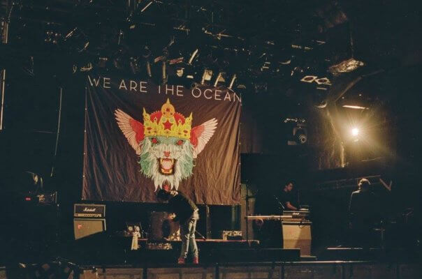 We Are The Ocean stopt