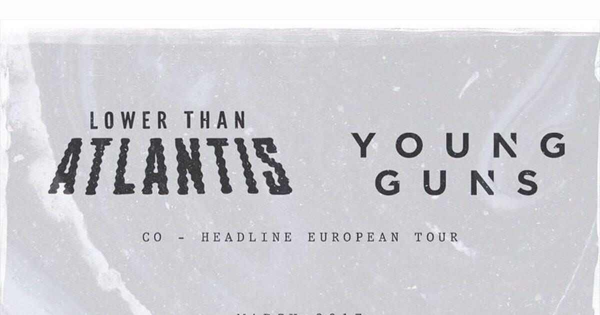 Lower Than Atlantis en Young Guns hebben een Europese tour ... Paramore Nederland