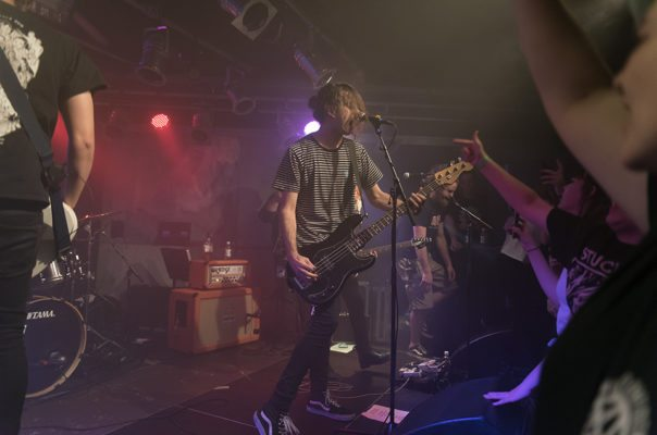 With Confidence sluit hun Europese tour af in een zweterige Dynamo basement